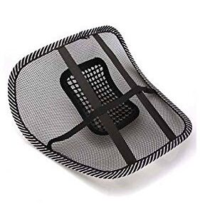 Mesh Ventilation Back Rest with Lumbar Support