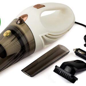 RNG EKO Green RNG-2001 Car Handheld Vacuum Cleaner (White) Brand: RNG EKO GREEN